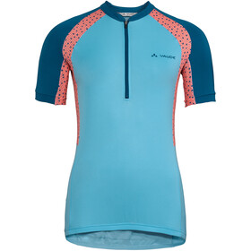 VAUDE Advanced IV Jersey Women, crystal blue